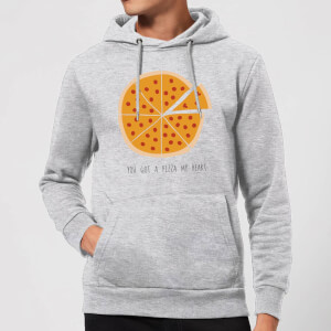 You Got A Pizza My Heart Hoodie - Grey
