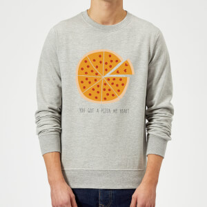 You Got A Pizza My Heart Sweatshirt - Grey