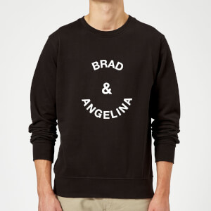 Brad & Angelina Sweatshirt - Black
