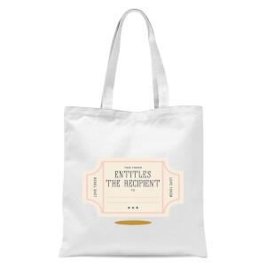 Love Token Tote Bag - White