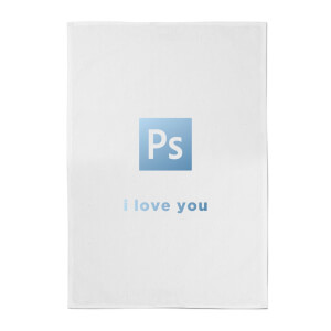 PS I Love You Cotton Tea Towel