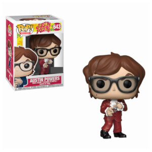Austin Powers Austin in Red Suit EXC Pop! Vinyl Figure