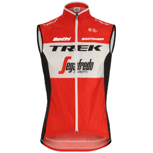 Santini Trek-Segafredo 2019 Fine Light Wind Gilet 0447282a0