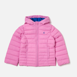 Joules Girl's Kinnaird Packable Jacket - Light Pink