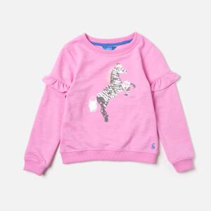 Joules Girls' Tiana Sweatshirt - Light Pink
