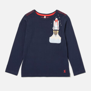 Joules Boys' Winston Sweatshirt - Navy Rocket Pocket