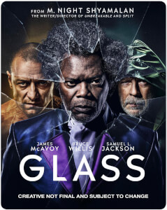 Glass 4K Ultra HD - Zavvi UK Exklusives Limited Edition SteelBook (Inkl. 2D Blu-ray)