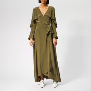 Diane von Furstenberg Women's Alice Dress - Olive