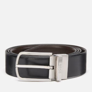 BOSS Men's Owen-B Reversible Belt - Black