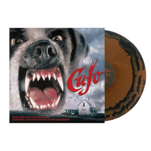"Charles Bernstein: Cujo: Music from the Motion Picture (Limited Black & Brown """"St. Bernard"""" Vinyl Edition) LP"