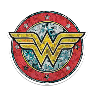 Wonder Woman Shield Cardboard Cut Out