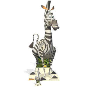 Madagascar - Marty Lifesize Cardboard Cut Out