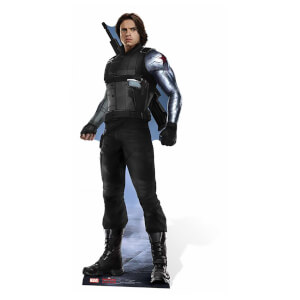 Captain America: Civil War - Winter Soldier Lifesize Cardboard Cut Out