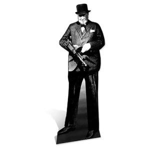 Winston Churchill Lifesize Cardboard Cut Out