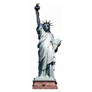 Statue of Liberty Mini Cardboard Cut Out