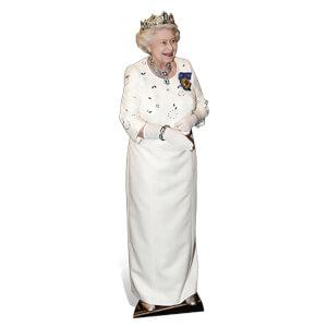 Queen Elizabeth Lifesize Cardboard Cut Out