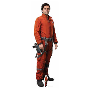 Star Wars: The Last Jedi - Poe Dameron Lifesize Cardboard Cut Out