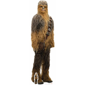 Star Wars: The Last Jedi - Chewbacca Lifesize Cardboard Cut Out
