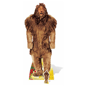 The Wizard of Oz - The Cowardly Lion Lifesize Cardboard Cut Out