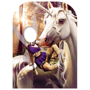 Unicorn & Fairy Fantasy Land Child Size Stand-in Cardboard Cut Out
