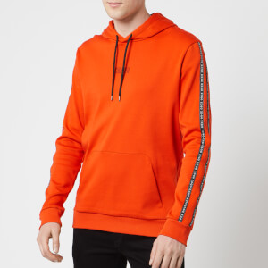 HUGO Men's Dercolano Sweatshirt - Dark Orange