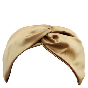 Slip Silk Twist Headband - Gold