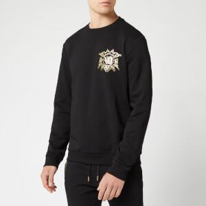 Versace Jeans Men's Chest Logo Sweatshirt - Black