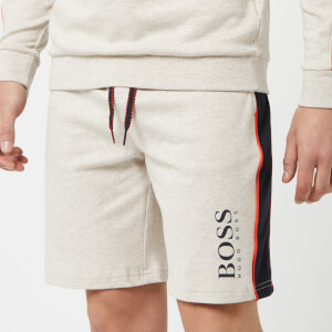 BOSS Hugo Boss Men's Stripe Detail Shorts - Grey