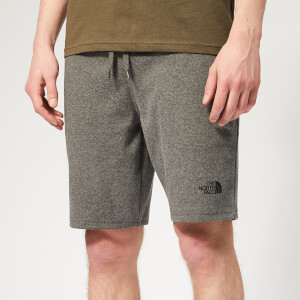 The North Face Men's Standard Graphic Light Shorts - Medium Grey Heather