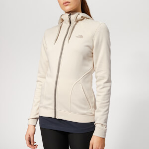 The North Face Women's Kutum Full Zip Hoody - Vintage White Heather