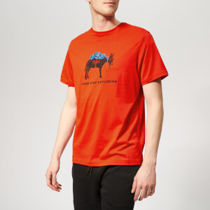 The North Face Men's Tansa Short Sleeve T-Shirt - Fiery Red