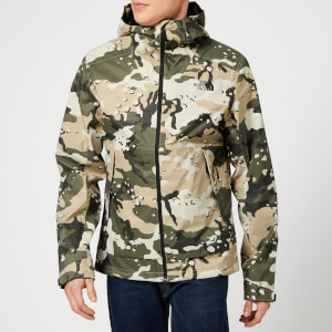 The North Face Men's Millerton Jacket - Peyote Beige Woodchip Camo Print