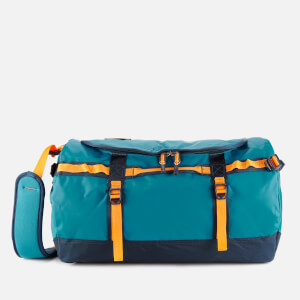 The North Face Base Camp Small Duffel Bag - Crystal Teal/Urban Navy