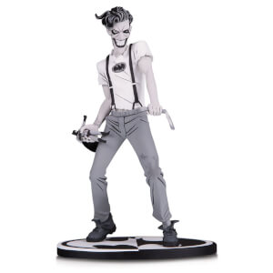 DC Collectibles Batman Black & White Statue The White Knight Joker by Sean Murphy 18 cm