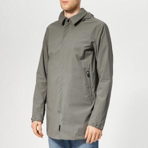 Herno Men's Hooded Car Coat - Grey