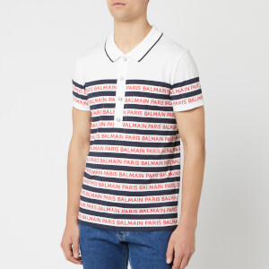 Balmain Men's Paris Mariniere T-Shirt - Multi