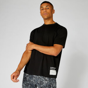 Myprotein Box Logo T-Shirt - Black