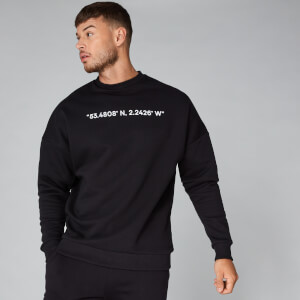 Myprotein Co-Ordinate Sweatshirt - Black