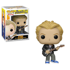 Pop Rocks The Police Sting Pop! Vinyl Figure