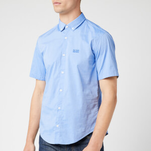 BOSS Men's Biadia Shirt - Medium Blue