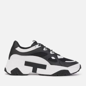 Tod's Men's Runner Style Trainers - White/Black