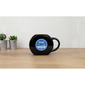 Schallplatten-Formige Tasse