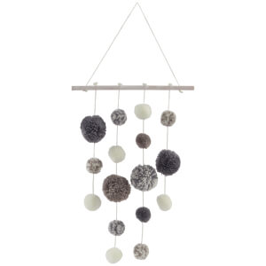 Sass & Belle Pompom Mobile Grey