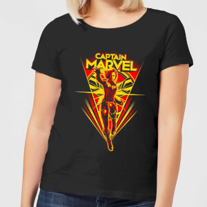 Captain Marvel Freefall Women's T-Shirt - Black