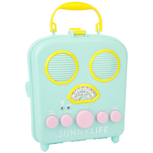 Sunnylife Beach Sounds Bluetooth Speaker- Seafoam