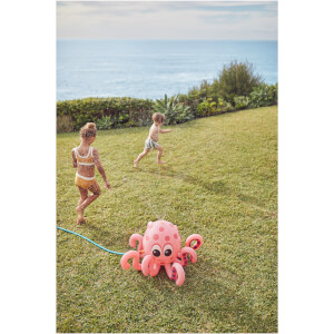 Sunnylife Inflatable Octopus Sprinkler - Pink