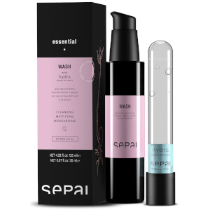 Sepai Wash Cleanser and Hydra Bloom Infusion 142ml