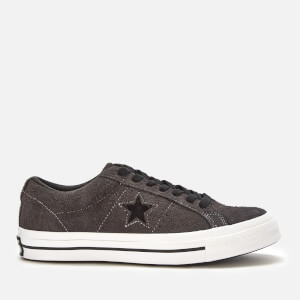 66d963b831b Converse Men s One Star Ox Trainers - Almost Black White