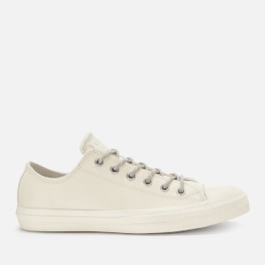 Converse Men's Chuck Taylor All Star Ox Trainers - Egret/Papyrus