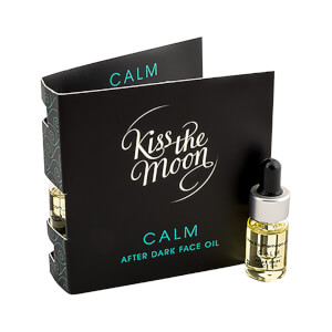 Kiss the Moon CALM After Dark Face Oil 3ml Sample with Card